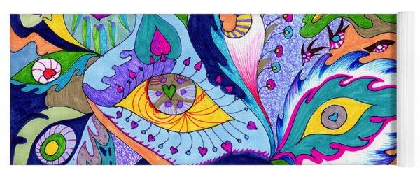 Fantas Eyes Yoga Mat