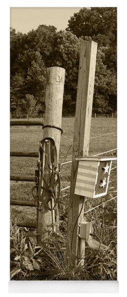 Fence Post Yoga Mat