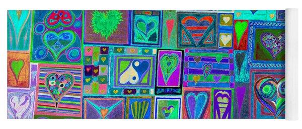 find U'r Love found    v13 Yoga Mat