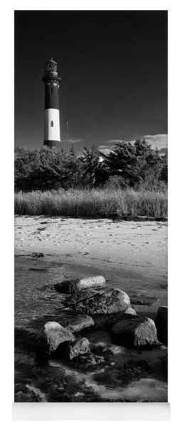 Fire Island In Black And White Yoga Mat