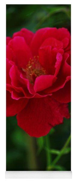 Flower Of Love Yoga Mat