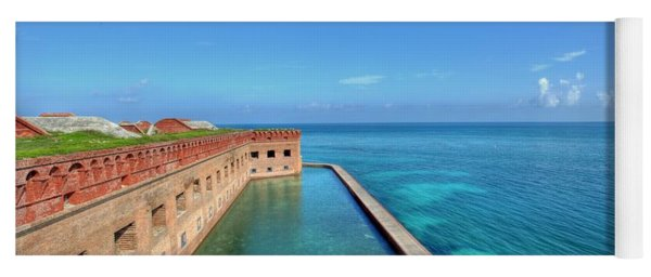 Fort Jefferson Yoga Mat