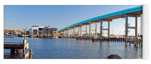 Fort Myers Bridge Yoga Mat