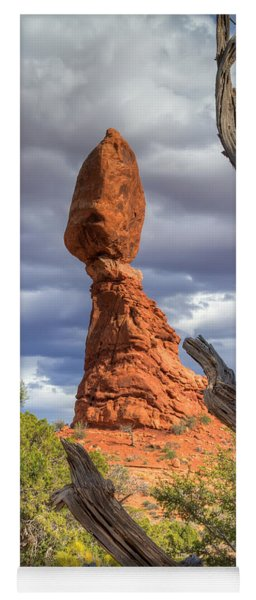 Framed Balance Rock Yoga Mat