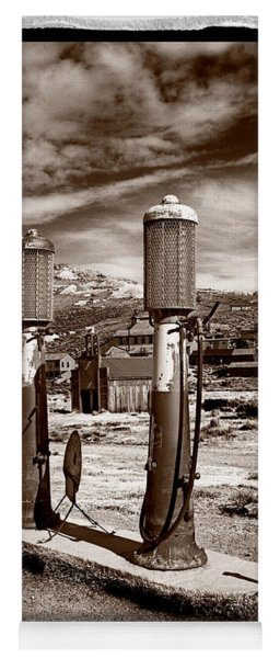 Fuel Pumps And Firehouse In Bodie Yoga Mat