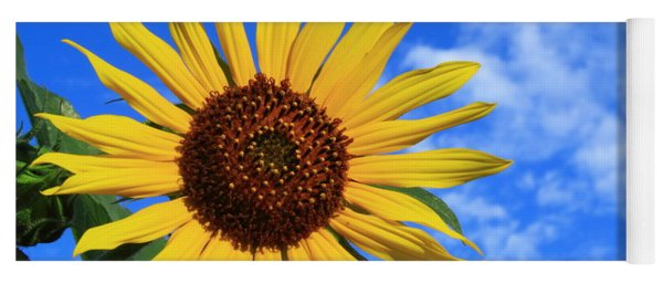 Golden Sunflower Yoga Mat