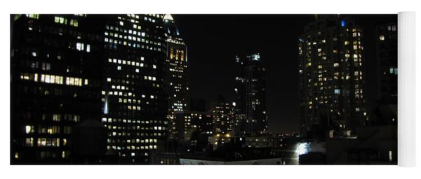 Yoga Mat featuring the photograph Gotham City by David Dehner