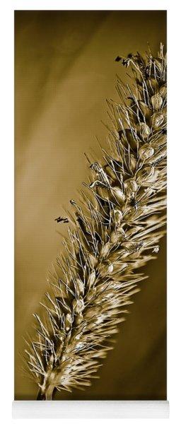 Grass Seedhead Yoga Mat