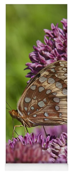 Great Spangled Fritillary Din194 Yoga Mat
