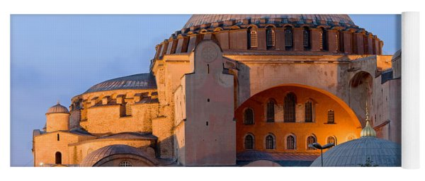 Hagia Sophia At Dusk Yoga Mat