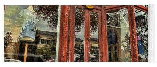 Halloween Storefront - Shepherdstown Wv Yoga Mat