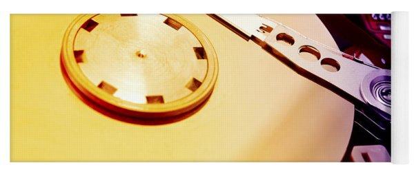 Hard Disk Detail Yoga Mat