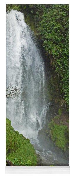 Headwaters Peguche Falls Ecuador Yoga Mat