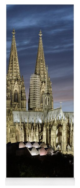 High Cathedral Of Sts. Peter And Mary In Cologne Yoga Mat