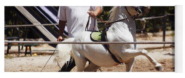Horse Training Yoga Mat