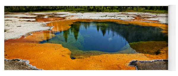 Hot Springs Yellowstone Yoga Mat