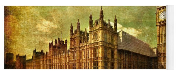 House Of Parliament - London Yoga Mat
