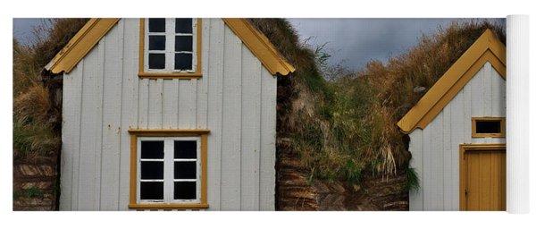 Icelandic Turf Houses Yoga Mat