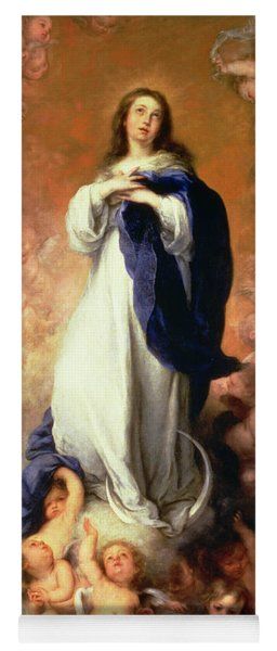 Immaculate Conception Of The Escorial Yoga Mat