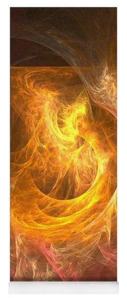 Inferno - Abstract Art Yoga Mat
