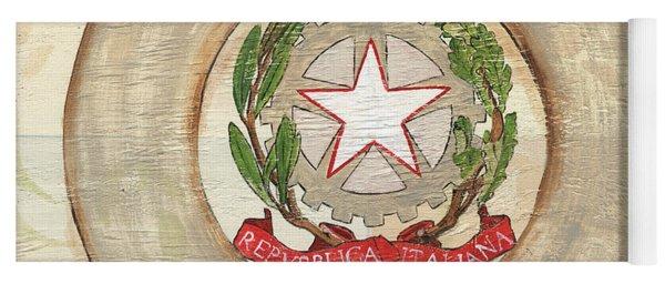 Italian Coat Of Arms Yoga Mat