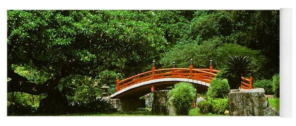 Japanese Garden Bridge 21m Yoga Mat