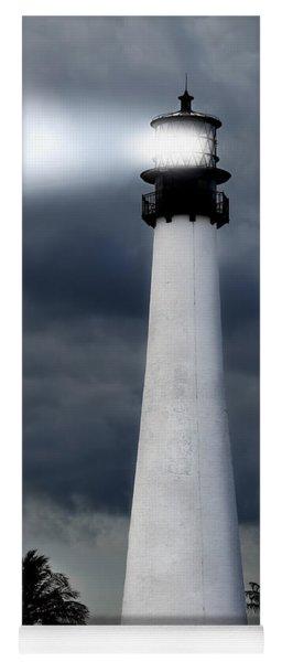 Key Biscayne Lighthouse Yoga Mat