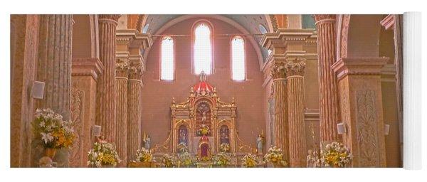 La Iglesia Matriz De Sangolqui Ecuador Yoga Mat