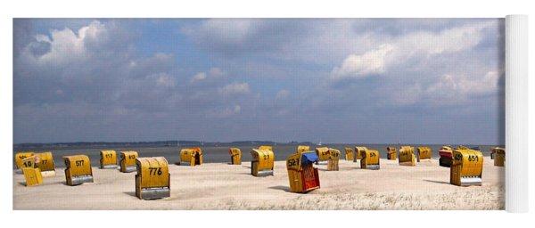 Laboe Beach ... Yoga Mat