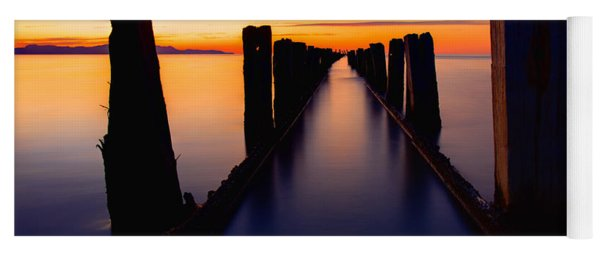 Lake Reflection Yoga Mat