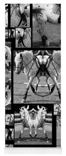 Leopard Appaloosa Collage Yoga Mat