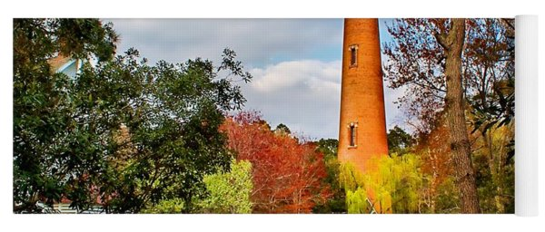 Lighthouse At Currituck Beach Yoga Mat