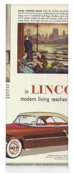 Lincoln Cosmopolitan 1952 Yoga Mat