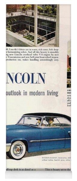 Lincoln Cosmopolitan '52 Yoga Mat