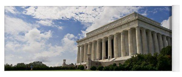Lincoln Memorial And Sky Yoga Mat