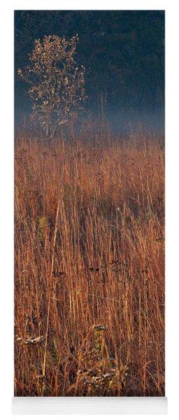 Little Bluestem Prairie Grass Yoga Mat