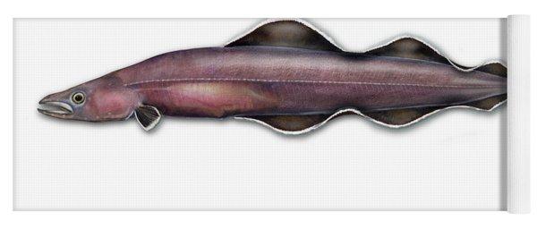 Living Fossil Eel - Protoanguilla Palau - Isle Of Palau Yoga Mat