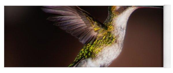Lone Hummingbird Yoga Mat