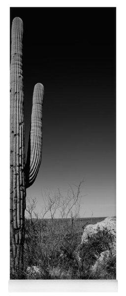 Lone Saguaro Yoga Mat