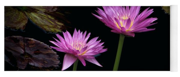 Lotus Water Lilies Yoga Mat