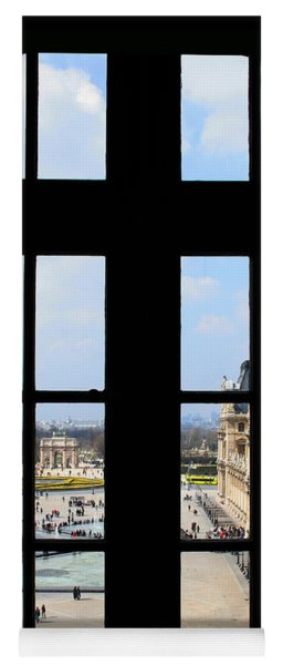 Louvre Window Yoga Mat