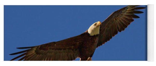 Majestic Bald Eagle Yoga Mat