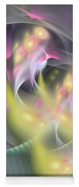 Memoria Futurorum -abstract Art Yoga Mat