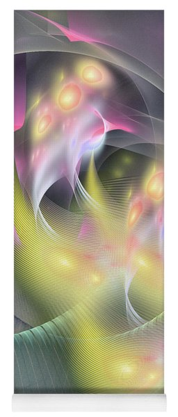 Memoria Futurorum -abstract Art Yoga Mat
