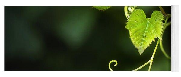 Memories Of Green Yoga Mat