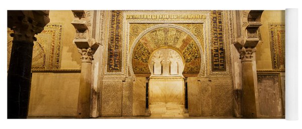 Mezquita Mihrab In Cordoba Yoga Mat