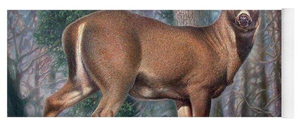 Missouri Whitetail Deer Yoga Mat