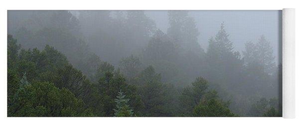Misty Mountain Morning Yoga Mat