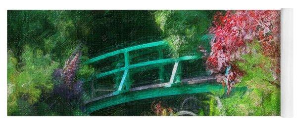 Monet's Garden Yoga Mat