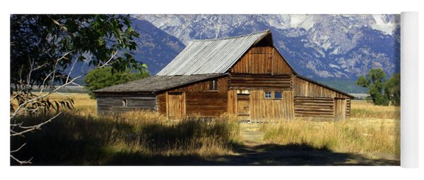 Mormon Row Barn Yoga Mat